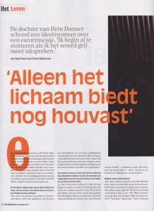 Marian Donner in Vrij Nederland 1